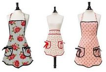 """Aprons, Oven Mitts, Oh My! / All of our Jessie Steele aprons and complementing oven mitts are designed with the stylish """"bakeress"""" in mind. Happy baking!  http://www.apronsandovenmitts.com/"""
