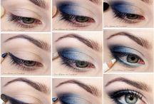 Blue eye make up / Make up