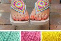 Crochet feet
