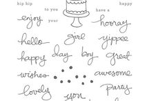 """Endless Birthday Wishes (Jan 18, 2016) / Stampin' Up! Demonstrators created an array of projects using our Endless Birthday Wishes stamp set. Click any of the images to be directed to their website for additional details. You will also be able to """"hop"""" from site to site using the links provided on each post."""