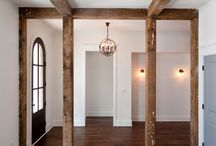 Ceiling Beams / From reclaimed beams to custom created box beams, this is a great architectural element for new home construction.