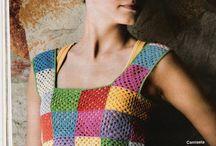 vestido color cuadrados
