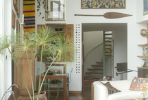 Office/Studio Inspiration / bohemian inspo for the office / studio space