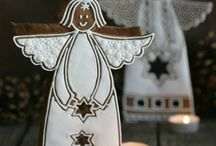 Gingerbread cookies decoration