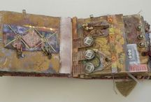 Fabric for books and mixed media