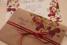 Dicas de convites para casamento n cor marsala lindooooo apaixonadas pela cor❤