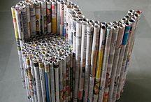 cadeira de jornal