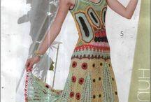 szydełkowe suknie
