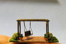 miniatuur tuin / miniatuur tuin