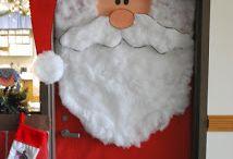 Boże Narodzenie - drzwi