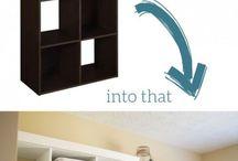 Kitchen, Bath and Laundry Organization DIY