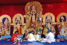 Nav Chetan Durga Puja / This is my village durga puja and It is celebrated every year by the villager with great joy. It is organized by the villagers co-operation.