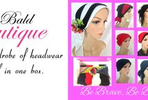 Cancer, Chemo, Headwear, Alopecia / Inspirational ideas from Bald Boutique for headwear, caps, scarves and accessories to restore confidence in women undergoing #chemo, #hairloss, #alopecia #cancer