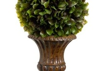 Topiary ~~ by http://e-silkflowerdepot.com/ / Artificial floral supply and home decor acceseries . Wholesale offering to businesses, non-profits, churches and designers. We also offer free sourcing service -- let us know what you are looking for, we will find it for you. Artificial flowers, greenery, trees and seasonal items. webside: www.e-silkfloerdepot.com TEL: 1-800-444-2920