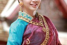 Laos Fashion Traditional Dresses