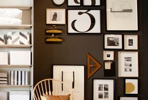decorating with letters & numbers / by Tiffany Brommerich Kotz