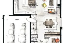 Floor plans / Architecture Design Floor Plans