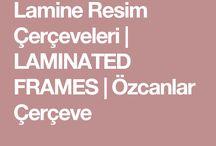 Lamine Resim Çerçeve Profili