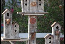 Birdhouse Linnunpöntöt Lintuja