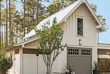 house/ garage colours