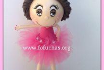 Fofuchas / Trabajos y patrones de muñecas fofuchas. Muñecas de goma eva personalizadas.