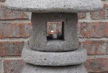 linternas japonesas de jardín