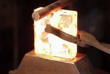 Axe forging