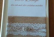 100-Dinge-Buch / Professionell handgefertigt - gern auch nach ihren individuellen Wünschen! www.facebook.com/nina.creative.for.you www.creative-for-you.at