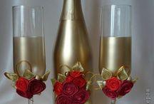 garrafas para casamento