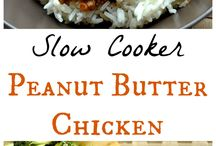 Peanut Butter Cravings / Recipes to satisfy the peanut butter craving, mainly in savory dishes.