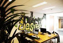Office. / The Dutchwebdesign office.