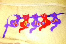 felt name idea / I made to my doughter friend cats name becouse she love cats.It's my idea.