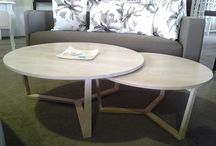 PURE  collection RZID / Made of pure solid American White Oak in a variety of  finishes. These unique pieces of furniture bring people together, it unites people . The round table creates equality and brings warmth to your dining area. Collection includes dining, side and  coffee tables. The tables are made to order and  can be fully customized to your wishes.  Locally designed and manufactured by RZID in Noosa, Australia.  www.rzid.com.au