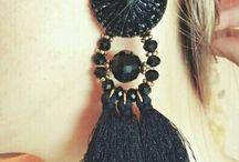 Chunky Tassel Earrings