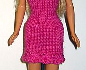 Knitted & Crochet dolls clothes