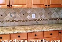 Top Star Granite on Medium wood Cabinets