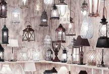 Ciekawe lampy / Ta tablica zawiera ciekawe wykorzystane lamp wiszących.