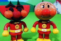 アンパンマンおもちゃアニメ❤スイカに粘土アンパンマン!本物はどっちだ? Anpanman toys