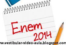 Enem 2014 questões resolvidas / #vestibular #enem #vestibulando #pre-vestibular
