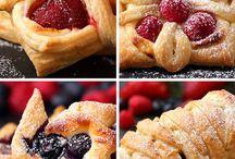 Puff pastry desserts