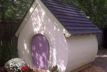 Playhouse plans by Playhouse Planner / We believe play is essential to a child's development and strive to create playhouses that encourage self expression and open ended play.