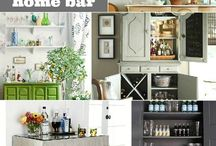 Home: Bar and Entertaining
