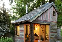 Cabins & Tiny Houses / by Debbie Serrer