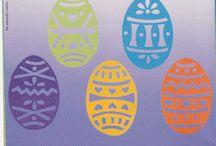 7 PAPER CUTTING  pâques / Modéles lapins,oeufs tout ce qui concerne décorations  Pâques. / by Denise Brugger