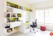 Keerthi Residency, Bengaluru / A 3BHK designed by Komal Kapoor for HomeLane.