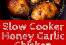Slow cook honey chicken