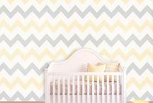 Nursery Ideas for Boy or Girl - Yellow & Grey