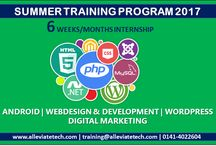 Summer Traning / Offers Summer Training for IT Industry