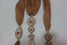 Günerin dünyası / Ribbon embroidery Jewellery