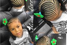 Cheveux d'enfant